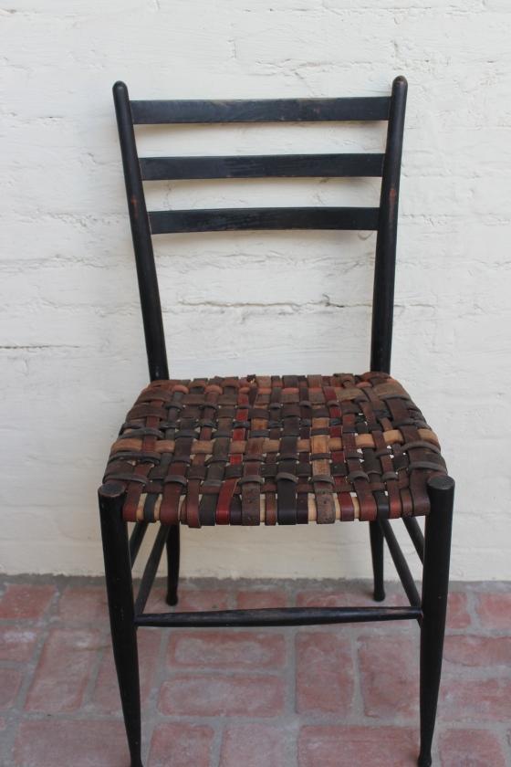 DIY webbed seating